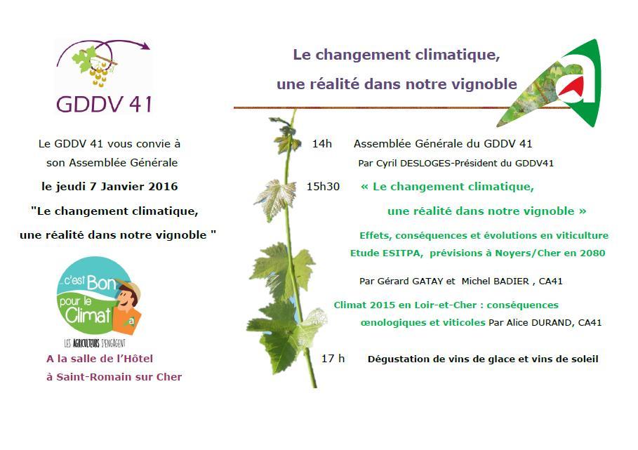 Le changement climatique r alit dans le vignoble mon viti for Chambre agriculture 13