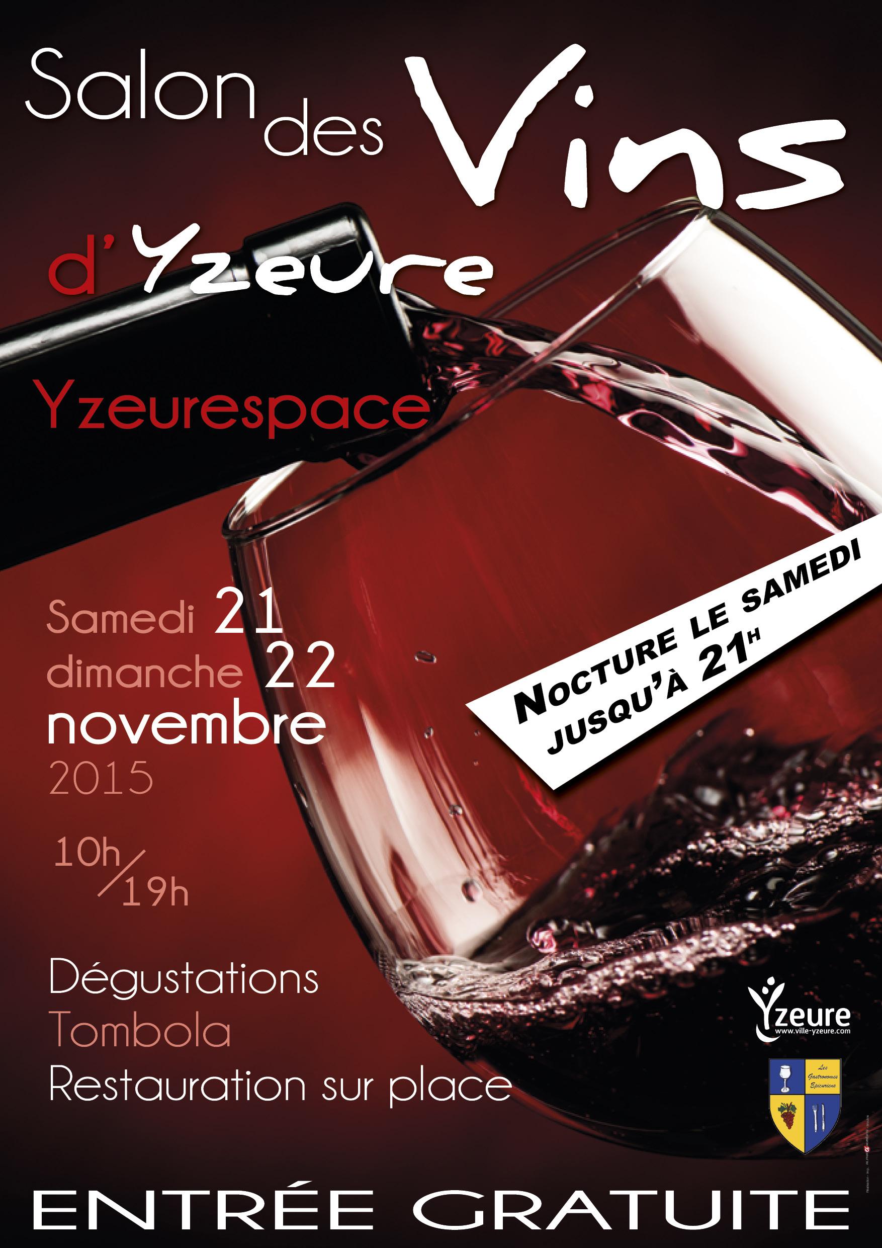 Salon des vins d 39 yzeure mon viti for Calendrier salon des vins