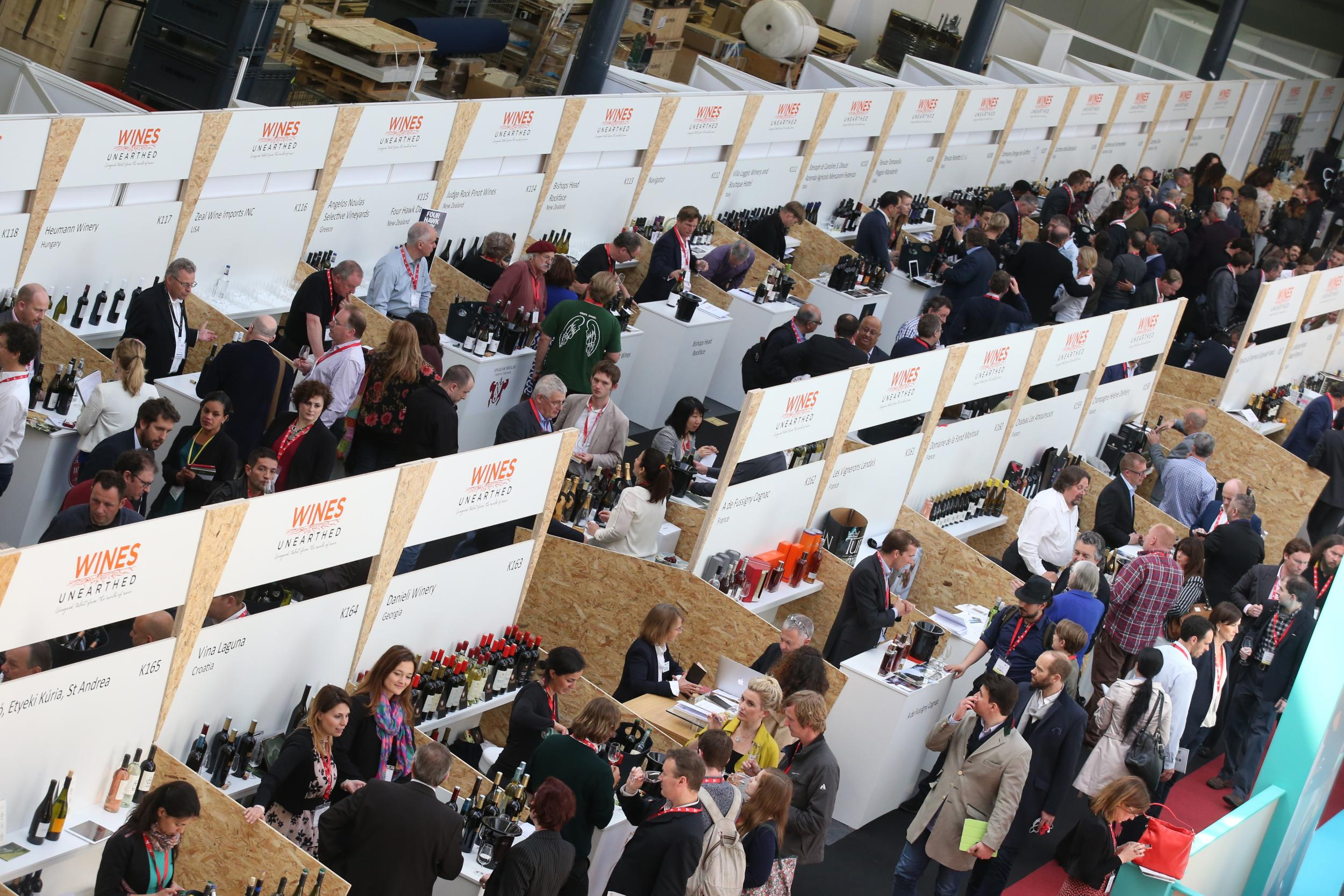 london wine Fair, salon vin, wines unearthed
