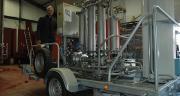 Sur l'ensemble des vignerons de la Cuma de Pouillé, sept ont choisi d'investir ensemble dans un filtre tangentiel en 2013, en remplacement de la filtration sur terre rose, ou du travail de prestataires. O.Lévêque/Pixel Image