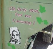 Insolite : des bennes à vendanger peintes, originales, sont à découvrir à Cairanne le vendredi 29 aôut prochain!