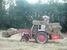 """""""McCormick fume du foin"""", actuel leader du concours J'aime mon tracteur"""