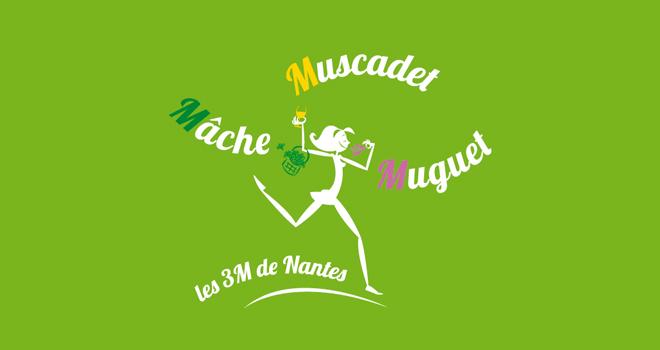 La marque « Les 3M de Nantes » vient d'être déposée. Elle vise à promouvoir la mâche, le muguet et le muscadet, produits emblématiques du Pays nantais. Crédit photo : Interloire, Fédération des maraîchers nantais et l'AOP mâche