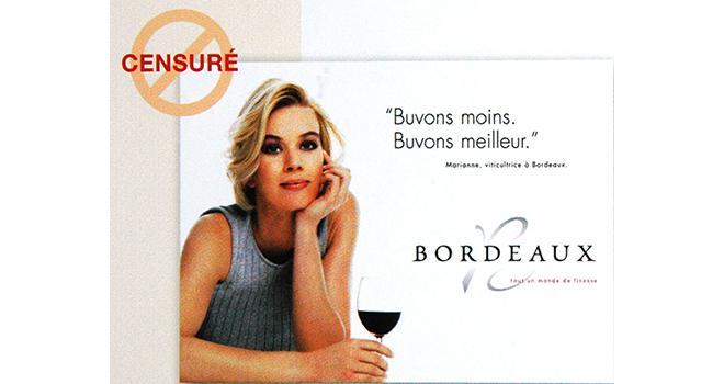 La Cour d'appel de Paris a estimé qu'il n'était pas nécessaire de présenter des professionnels grincheux et au physique déplaisant pour ne pas inciter le consommateur à l'excès de boisson.
