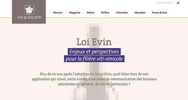 """Vin et société propose un livret """"Loi Évin: enjeux et perspectives pour la filière viti-vinicole"""", à télécharger d'urgence !"""