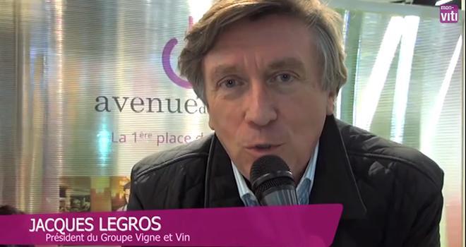 Jacques legros nous présente sa place de marché, Avenue des vins.