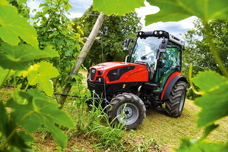 Tracteur - Same Frutteto CVT ActiveSteer : braquage à l'italienne