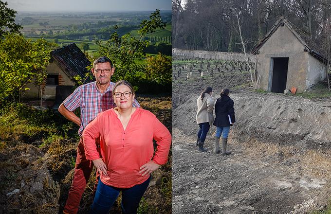 Domaine Vincent Grall, Sancerre - Le crowdfounding pour aménager une cabane de vignes