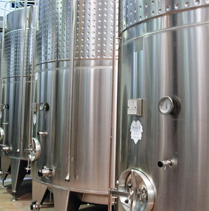 Avant le débourbage, l'oxygénation contrôlée des moûts (O2CM) permet de réduire la sensibilité des vins à l'oxygène. Photo : L. Theeten/Pixel Image