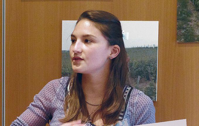 Selon Marie-Aure Bourgeon, de Vignes Tech Consult, les capteurs évolueront vers des systèmes de mesure plus autonomes. Photo : experimentarium université de Bourgogne