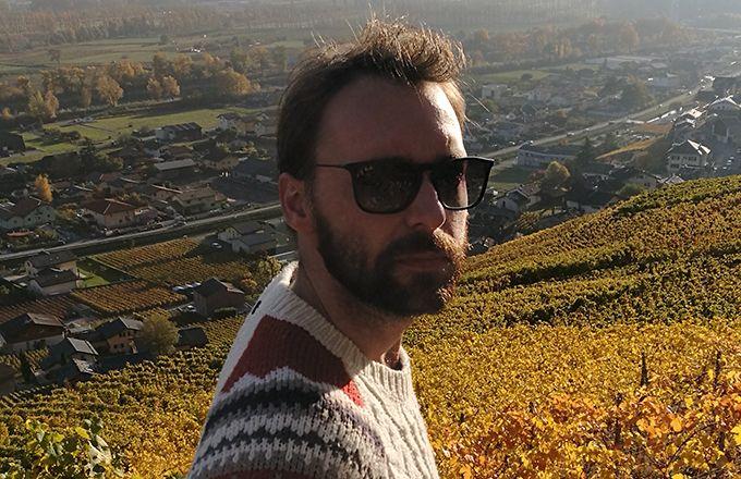 Antoine Dengis commercialise uniquement des vins nature depuis dix ans. © Antoine dengis