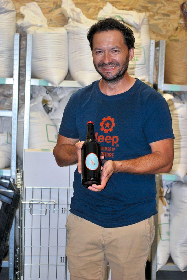 En complément de l'activité viticole du domaine, Ludovic Belin a développé en 2016 une activité de micro-brasserie artisanale.