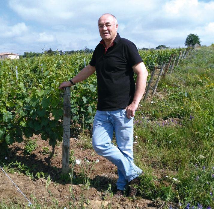 Philippe Laprun : «Produire des vins nature nécessite de bien connaître son terroir et ne pas se laisser déborder en cas de problème.» CP : DR