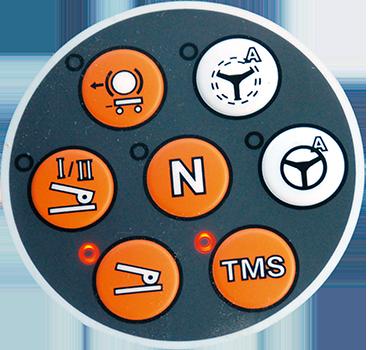 C'est une amélioration à prévoirpour Vincent Viarnet: pour activer le guidage, il faut appuyer sur un bouton sur le tableau  de bord, sous le volant. © S. Billaud/ATC