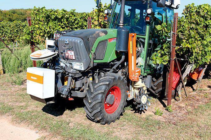 L'Assistant Plote Vignoble (VPA) permet d'automatiser le positionnement de l'outil de désherbage mécanique par rapport aux rangs