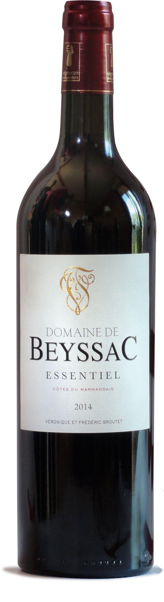 Au domaine de Beyssac, les bouteilles ne dépassent pas 500g et sont fabriquées à Cognac.