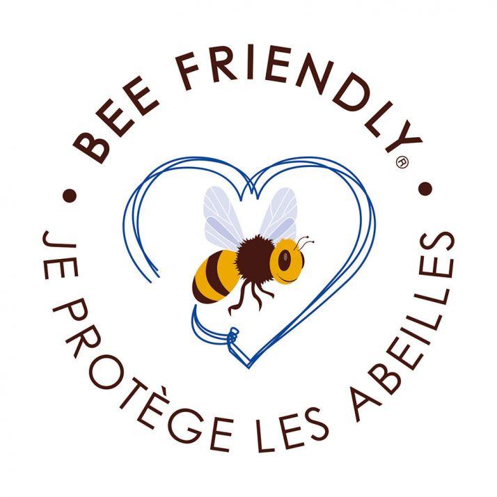 Bee Friendly® est un label européen qui promeut les produits respectueux des abeilles.