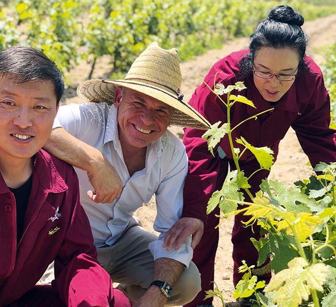 L'œnologue Stéphane Toutoundji a parcouru le vignoble chinois et connaît très bien les différents terroirs.
