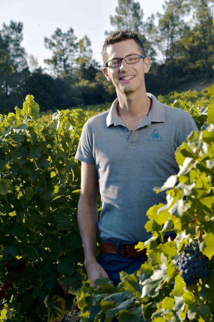 Guillaume Valli, œnologue consultant à l'Institut coopératif du vin. © ICV