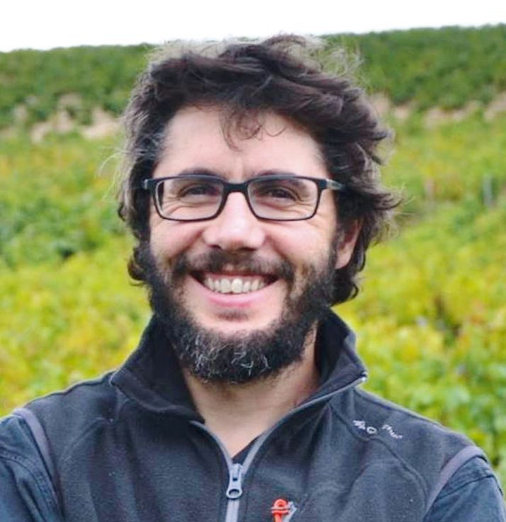 Julien Bertrand, vigneron dans le Beaujolais. Photo : DR