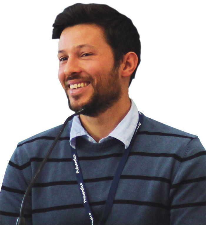 Alexis Pagnac, conseiller en prévention des risques professionnels à la MSA de la Gironde. © MSA Gironde