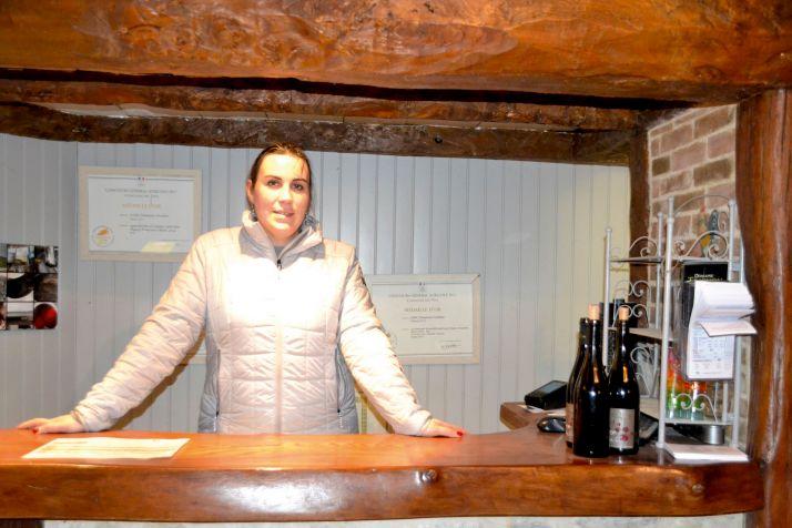 Originaire de Vacqueyras, dans les Côtes-du-Rhône, Claire Trichon a tiré parti  de l'expérience familiale  en matière d'accueil.