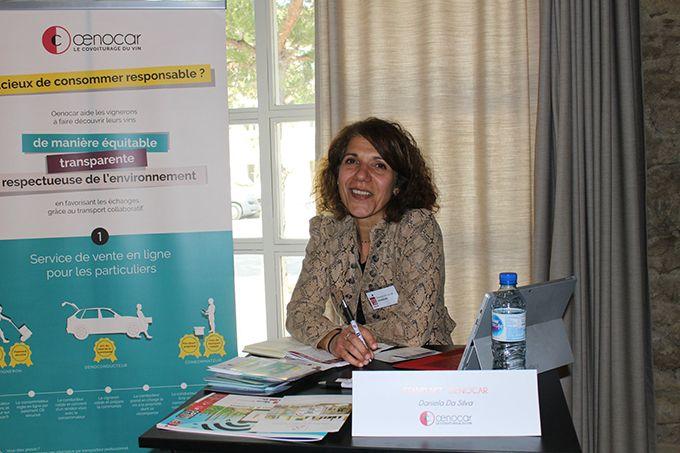Daniela Da Silva est à l'origine de la création d'Œnocar.