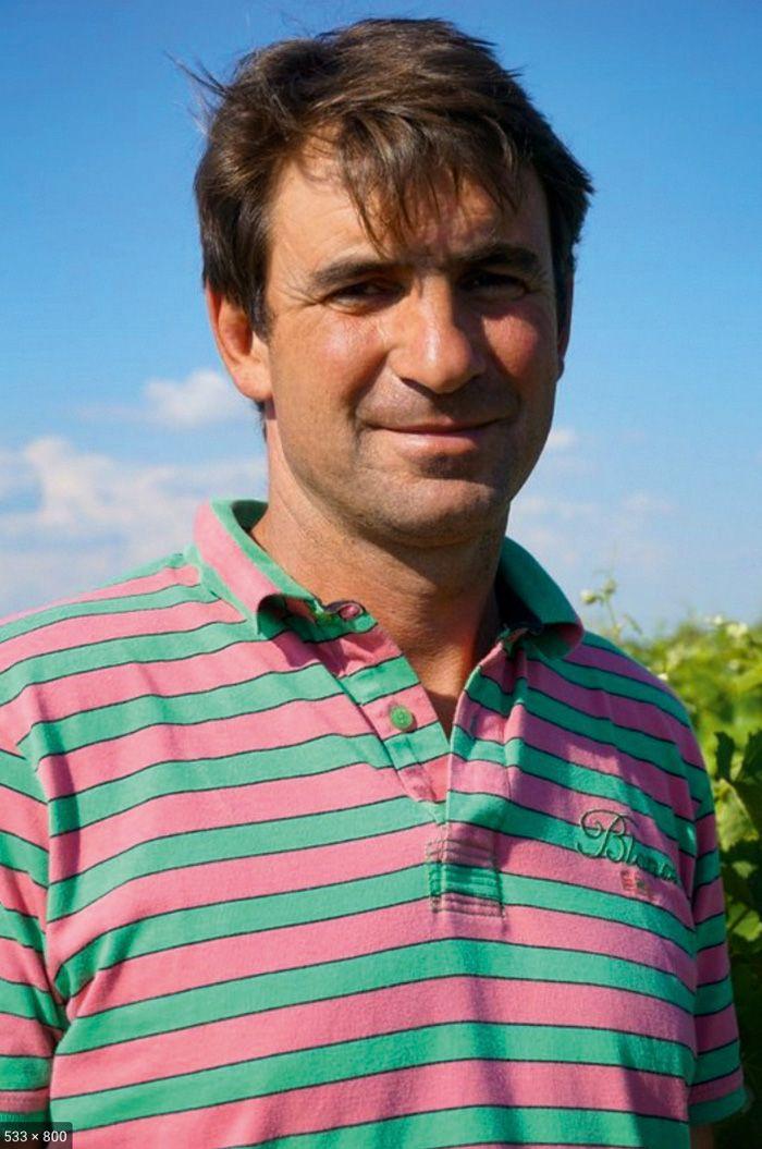 Pascal Pélissou, viticulteur  à Brens (Tarn).