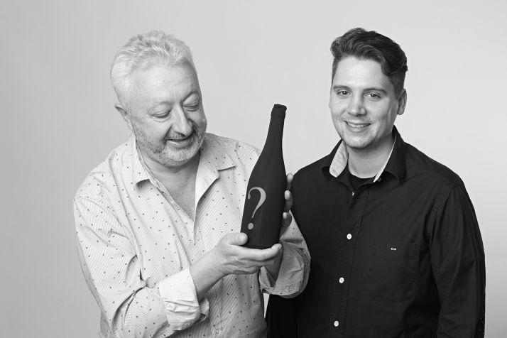 Didier et Maxime Martin, organisateurs du concours Féminalise.