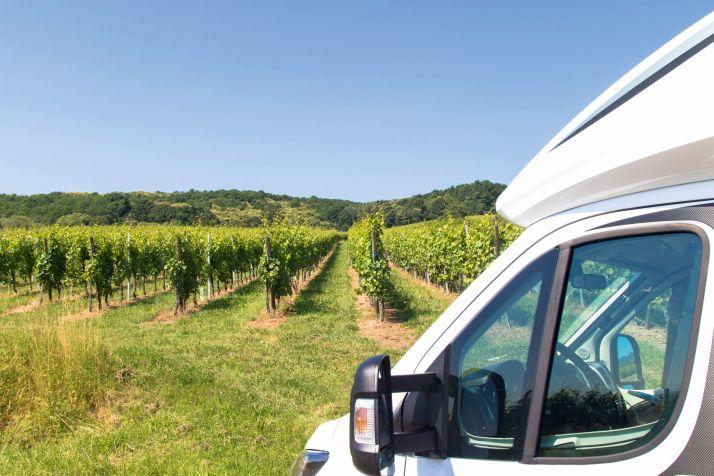 Pour un emplacement au bord d'un chemin, le viticulteur peut être rémunéré entre 8 et 40€,  en fonction des commodités. CP : Familie-eisenlohr.de/Adobe Stock