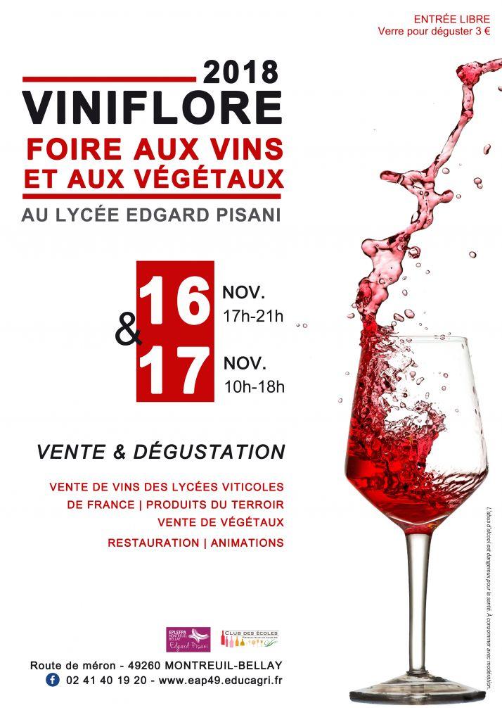 Une cinquantaine de vins sont à déguster ou à acheter à  Viniflore