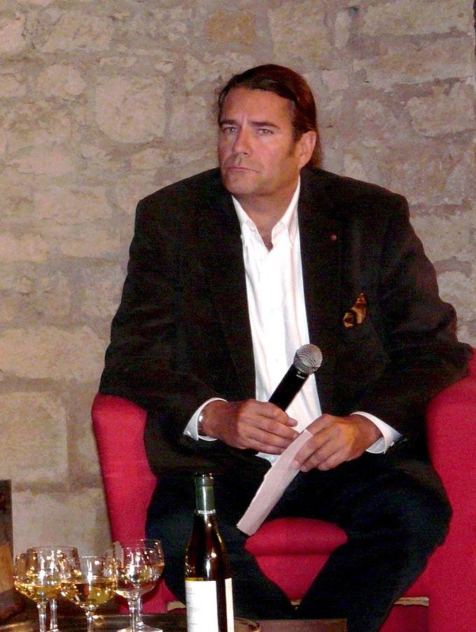 André Deyrieux est sommelier, vice-président du Conseil supérieur de l'œnotourisme, rédacteur en chef du site Internet winetourism, conseiller en stratégie œnotouristique du territoire. Photo : DR