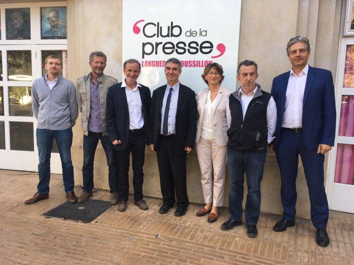 L'INAO LR et l'Agence de l'Eau soutiennent le projet d'intégration de clauses agro-environnementales  du cahier des charges de l'AOC Languedoc (S.Favre/Pixel Image)