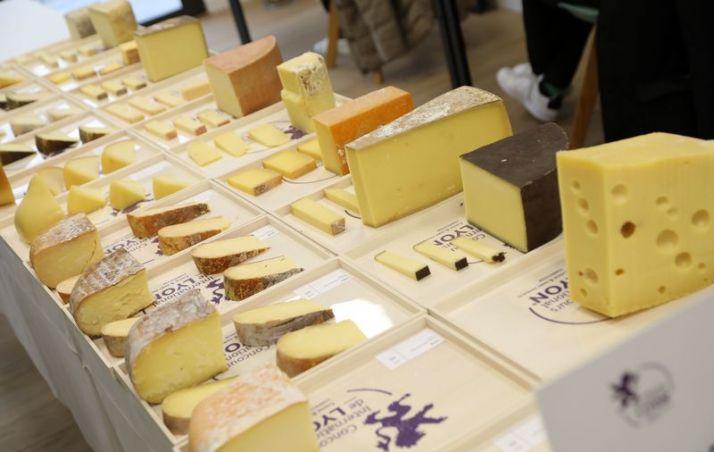 Le concours de Lyon c'est aussi dorénavant un concours de fromage et produits laitiers! ©Barbara Tournaire