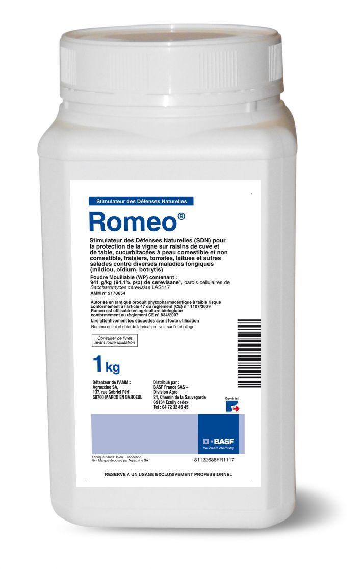 romeo, produit de biocontrôle en vigne