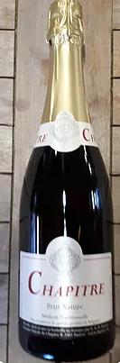 Vin mousseux élaboré par le domaine viticole du chapitre en Belgique