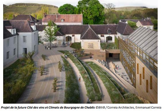 Cité des vins de Chablis