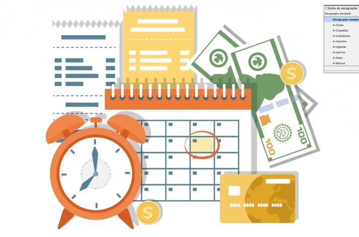 Des délais de paiement sont possibles. © Vectorhot/fotolia