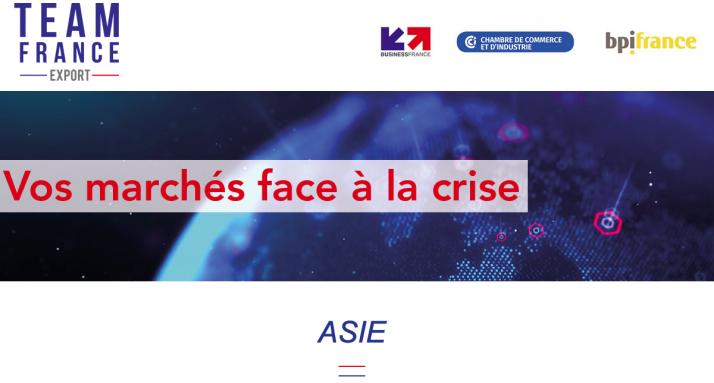 Les marchés export et le covid-19: Business France fait le point en 4 webinars