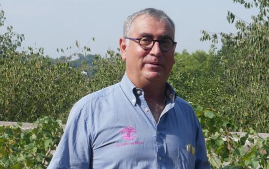 Bernard Angelras, Président du syndicat des Costières de Nîmes