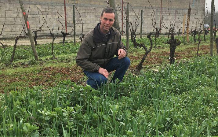 Christian Herbreteau, viticulteur. Photo NACA
