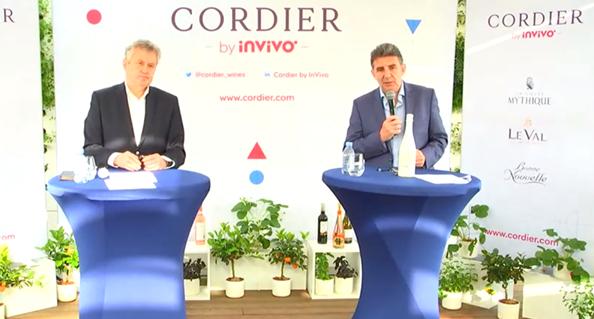 Thierry Blandinières et Philippe Leveau, respectivement DG et DG délégué de Cordier byInVivo