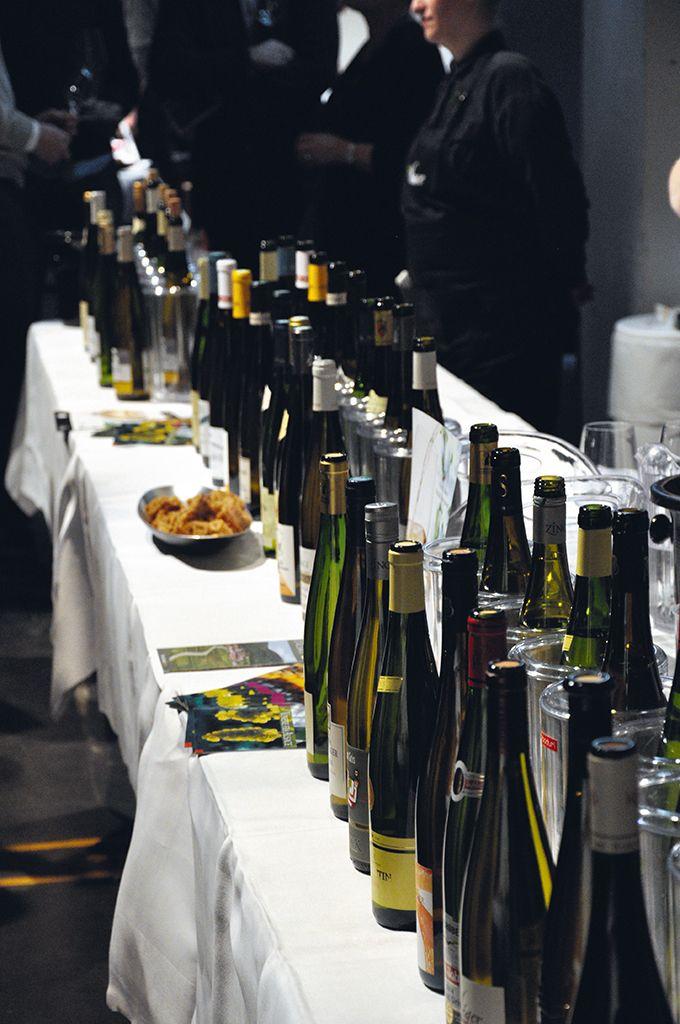 Les vins d'Alsace sont leaders des AOC blancs françaises au Danemark. Civa.