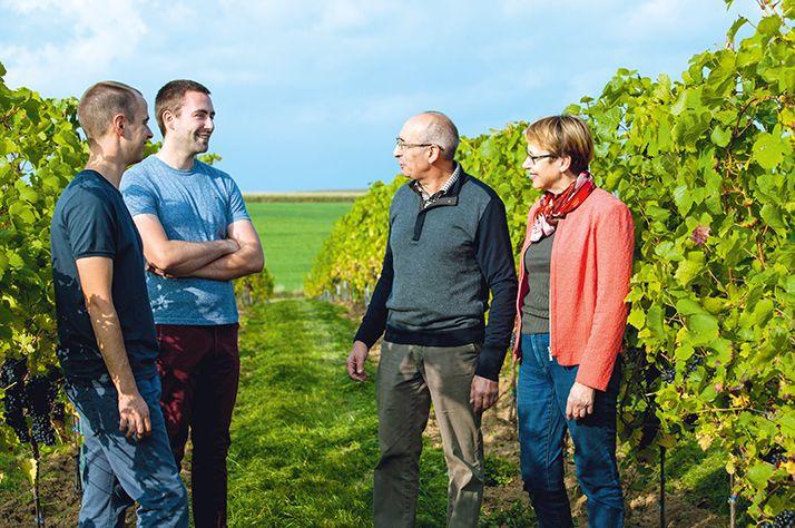 Bertrand Hautier dirige, avec son frère et ses parents, un domaine de 10ha à proximité de Bruxelles.