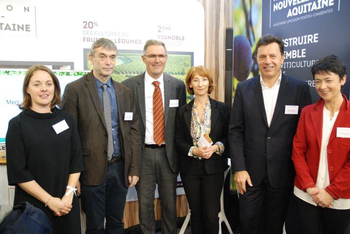 Le Bnic s'engage dans la viticulture durable, en lançant sa démarche de certification environnementale au Vinitech 2016. Photo O.Lévêque/Pixel Image