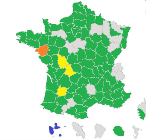 Résultat  provisoire du collège exploitant aux élections des chambres d'agriculture 2019