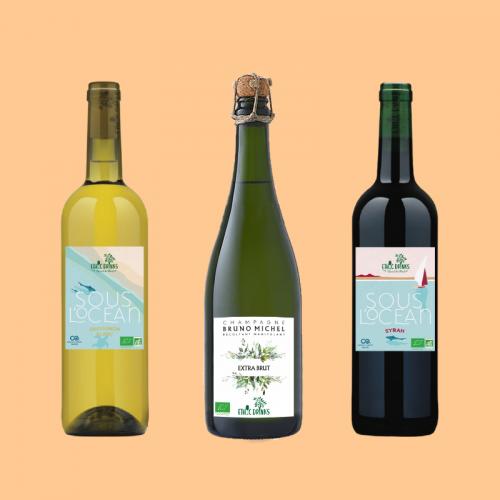 Gamme de vins sans capsules d'EthicDrinks