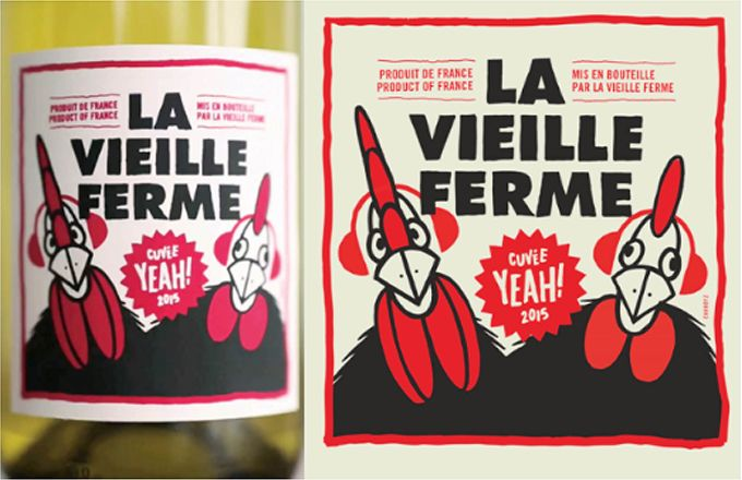 """Chaque année pour le Festival Yeah! dans le Vaucluse, La Vielle Ferme édite une série limitée """"Cuvée Yeah!""""."""