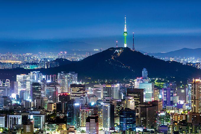 En Corée du Sud, le vin est un phénomène totalement urbain et essentiellement localisé à Séoul, la capitale.  Photo : eyetronic/Fotolia