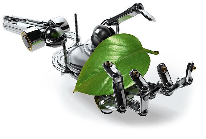 Le robot est bardé de capteurs et d'intelligence mécanique, électronique, informatique  et d'automatisme. Photo : X n' Y hate Z/fotolia